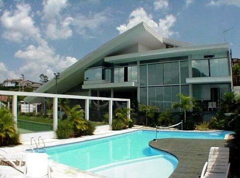 casas de luxo com piscina