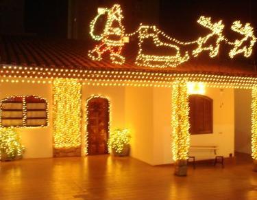 casas decoradas para natal