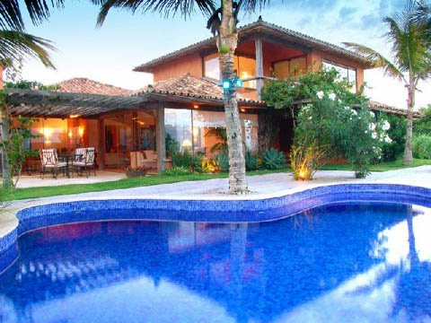 casas luxuosas com piscina