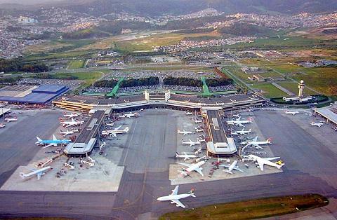 chegadas e partidas aeroporto de guarulhos