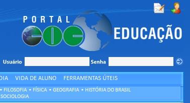 coc educacao portal login