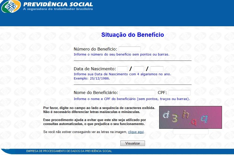 consulta beneficio inss previdencia social inss extrato