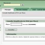 CONSULTA IPVA 2015 PELA PLACA RS
