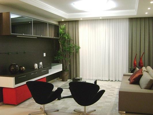 cortinas para sala moderna