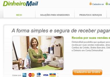 dinheiromail cadastro login
