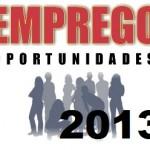 VAGAS DE EMPREGO EM GOIÂNIA 2013