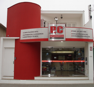 fachadas de lojas de informatica