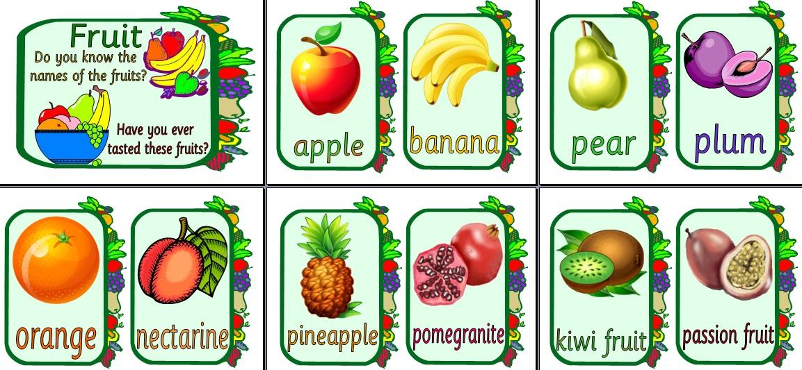 frutas em ingles portugues