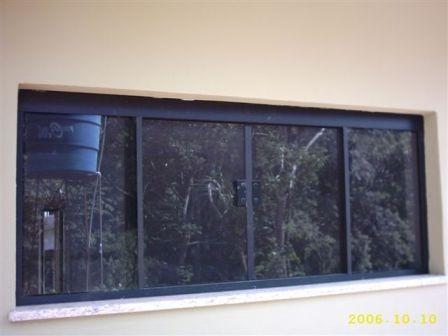 janelas de vidro temperado fume