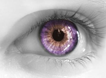 lente de contato coloridas