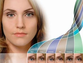lentes de contato coloridas