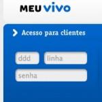 MEU VIVO – SITE www.vivo.com.br/meuvivo DESBLOQUEIO