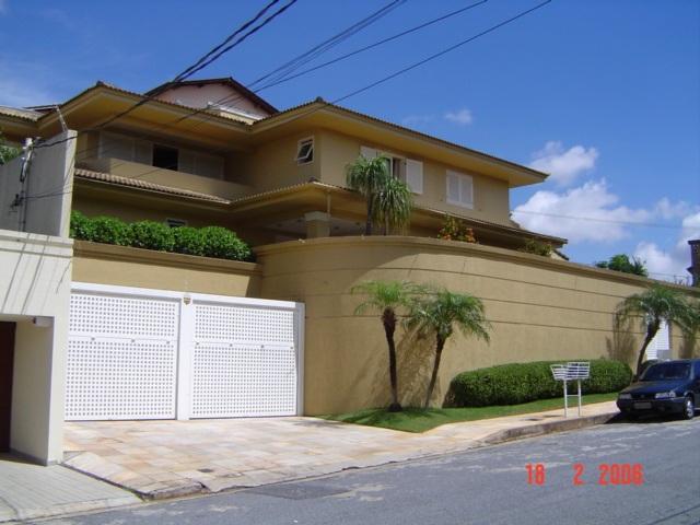 muros de casas com portao