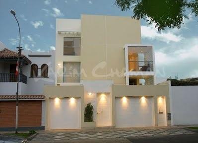 muros de casas modernas e de luxo
