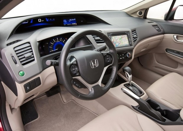 painel new civic 2012