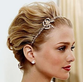 penteado para casamento cabelos curtos 2012