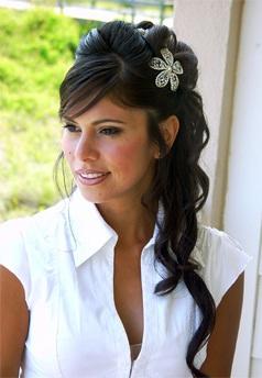 penteados para casamento 2012