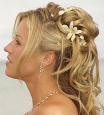 penteados para casamento modernos
