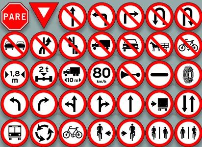 placas de transito significados
