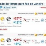 PREVISÃO DO TEMPO RJ – FINAL DE SEMANA | www.climatempo.com.br