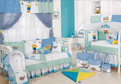 quarto de bebe masculino