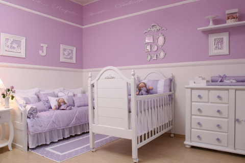 quartos de bebe feminino fotos
