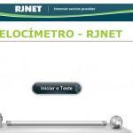 RJNET 3 – VELOCÍMETRO PARA TESTAR A VELOCIDADE DA SUA INTERNET