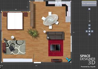 simulador de ambientes 3d