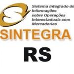 SINTEGRA RS CONSULTA NFE E CNPJ