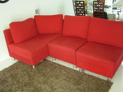 sofas vermelhos modernos sofa vermelho
