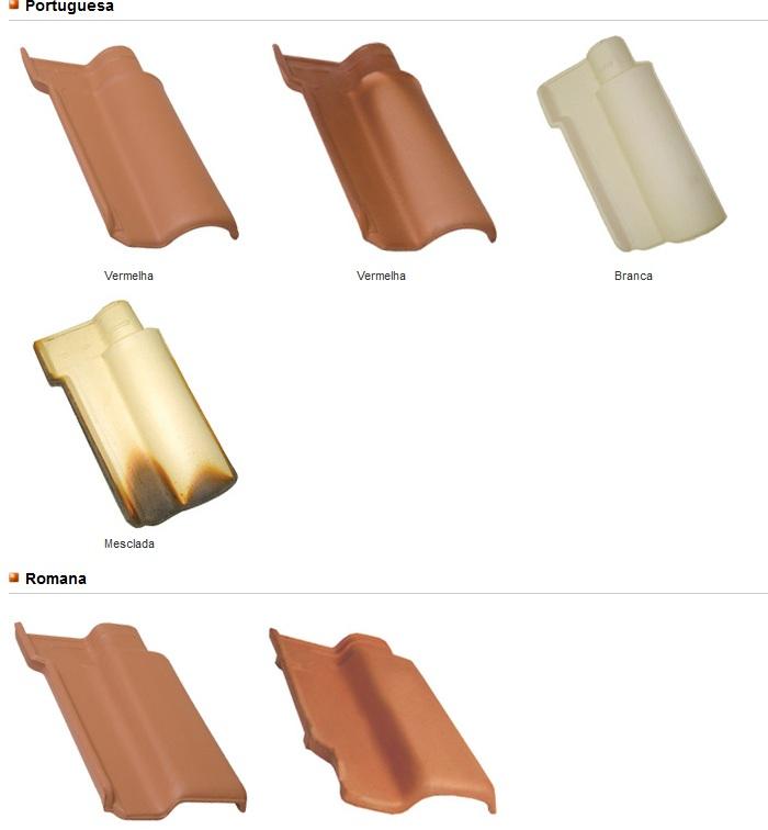 telha de barro francesa portugues e romana