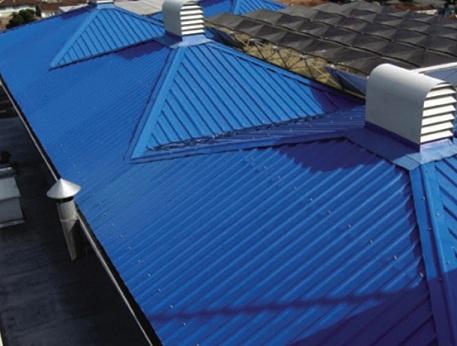 telhas brasilit coloridas e pintadas