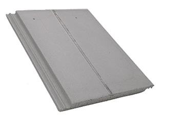 telhas de concreto lisa