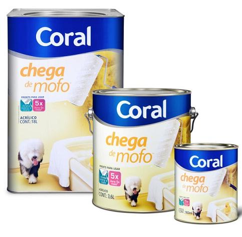 tintas para paredes internas coral