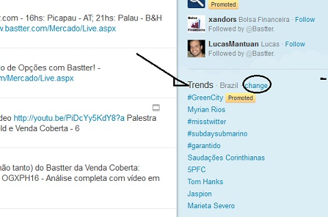 treding topics brasil twitter