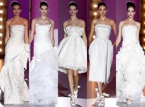 vestidos de noiva curtos 2010-2011