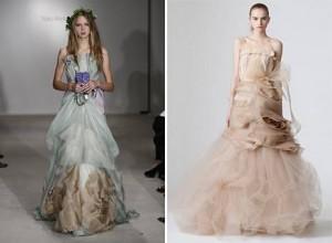 vestidos de noiva coloridos 2010-2011