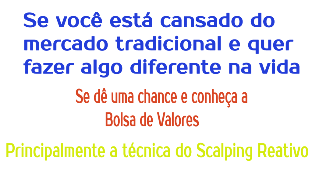 scalping reativo 2019